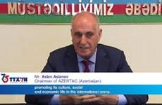 AZERTAC congratulates VNA on founding anniversary