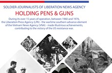 Soldier-journalists of Liberation News Agency