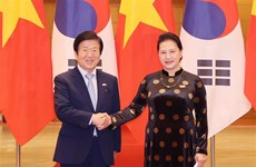 Korean National Assembly Speaker visits Vietnam