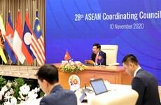 ASEAN 2020: 28th ASEAN Coordinating Council Meeting