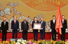 Grand ceremony marks Vietnam Fatherland Front's 90th anniversary