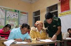 Soldiers' special classes in Son La