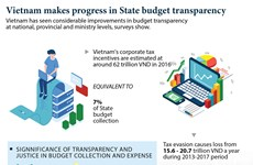 Vietnam makes progress in State budget transparency