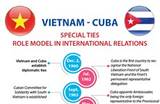 Vietnam – Cuba special ties: a role model international relations