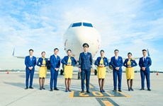 Vietravel Airlines announces uniforms, IATA symbol