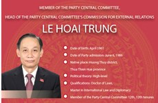 New head of Party's  Commission for External Relations