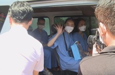 Da Nang health workers assisting colleagues in pandemic hotspot