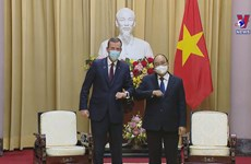 President meets Australian Minister for Trade, Tourism and Investment