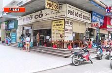 Hanoi allows resumption of some services