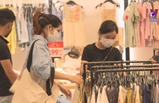 HCM City's shopping malls become busier as restrictions eased