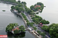 Ancient temple in Hanoi