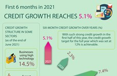 Credit growth reaches 5.1%