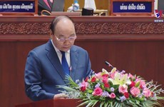 State President delivers speech at Lao National Assembly