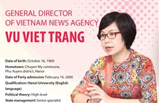 Vu Viet Trang appointed as Vietnam News Agency General Director