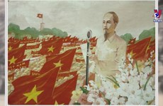 Painting exhibition features August Revolution victory