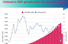 (interactive) Vietnam's GDP growth over 35 years of reform