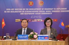 Meeting highlights strengthening social work for cohesive, responsive ASEAN Community