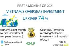 Vietnam's overseas investment up over 74 percent