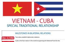 Vietnam, Cuba treasure special friendship