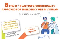Eight COVID-19 vaccines conditionally approved for emergency use in Vietnam