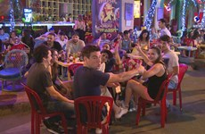 'Street of foreigners' adapts to new normal