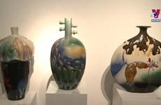 Exhibition boats essence of Vietnamese ceramic arts