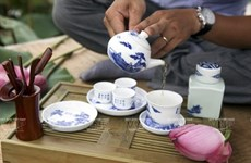 Quintessence of Vietnamese tea art