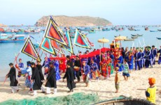 Phu Yen: Whale Worshipping Festival recognised as cultural heritage