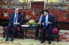 Hanoi calls for Austria's investment in waste treatment
