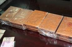 Hoa Binh police arrest heroin traffickers