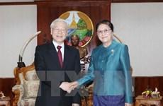 Vietnam treasures all-around ties with Laos: Party leader