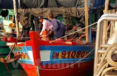 Thailand's marine police capture Vietnamese fishing boats