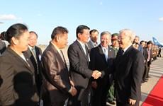 Party chief's Laos visit a success: Lao official