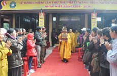 Ceremony marks 708th anniversary of King-Monk's Nirvana attainment