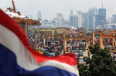 Thailand's exports down in October