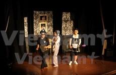 Vietnamese students' art performance held in UK