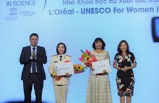 Fellowships awarded to female scientists
