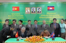 Vietnam, Cambodia foster inspection links