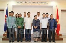 Indonesia exchange tightens Vietnam-Laos special solidarity