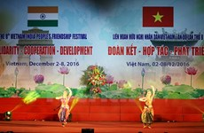 Vietnam-India people's friendship festival opens in Hanoi