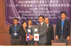 Japan supports gender education in northern Lao province