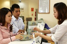 Reference exchange rate goes up 2 VND