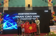 Vietnamese students win 2 top prizes at Int'l Robothon