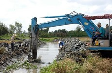 Mekong delta prepares for dry season