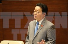 Minister eases local worries over environmental pollution