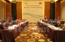 Vietnam, RoK hold joint committees' sessions