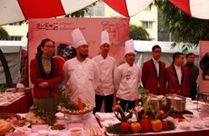 Hanoi food fest features culinary arts of other countries
