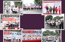 Thousands joins Hanoi Run for Children 2016