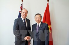 Public security ministry wants increased ties with Australia