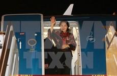 Top legislator arrives in UAE for female parliament speakers summit